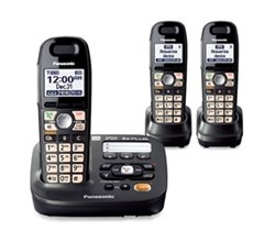 Panasonic 3 Handset Single Line panasonic kx tg6592t 1 tga659t