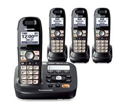 DECT 6.0 Cordless Phones Talking Caller ID panasonic kx tg6592t 2 tga659t