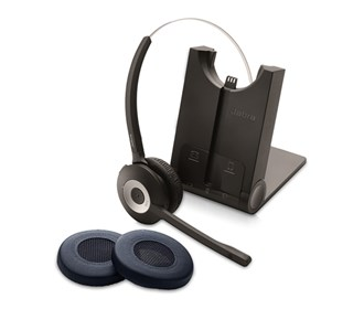 jabra gn netcom pro 935 sc ms with 2 ear cushions