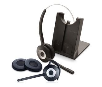 jabra gn netcom pro 935 sc ms with spare pro900 mono ear cushion