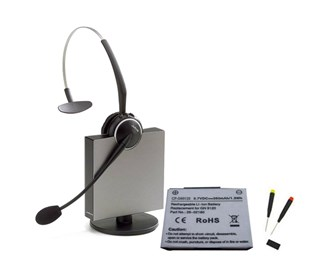 jabra gn9125 flex mono nc with spare battery gn9100 kit