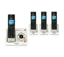 4 Handsets Phones with an Answering Machine   VTech ls6425 4