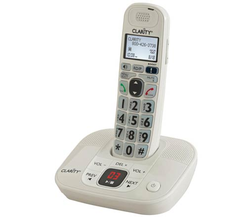 Clarity Clarity D712 D712 Amplified Cordless Big Button Phone w/Answering Machine