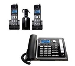 General Electric RCA 5.8GHz Single Line Cordless Phones ge rca 25270re3plus1 25055re1