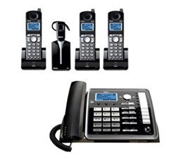 General Electric RCA 5.8GHz Single Line Cordless Phones ge rca 25270re3plus2 25055re1