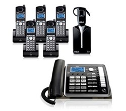 General Electric RCA 5.8GHz Single Line Cordless Phones ge rca 25270re3plus4 25055re1