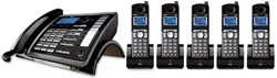General Electric RCA 5.8GHz Single Line Cordless Phones ge rca 25255re2plus4 25055re1