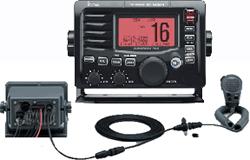 Icom Marine VHF Radios M504A REAR