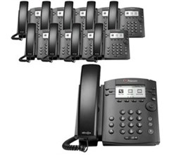 Polycom 6 Line Business Media Phones polycom 2200 48300 025