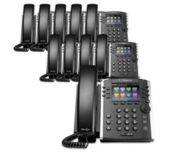 Polycom VVX Business Media Phones polycom 2200 48400 025