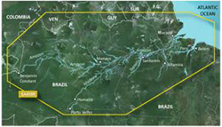 Garmin U.S. Inland Rivers BlueChart Water Maps garmin hxsa009r