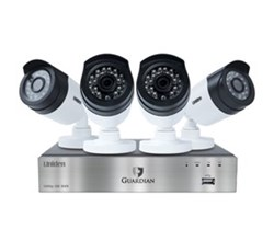 Uniden DVR 4 Camera Systems uniden guardian g6840d1