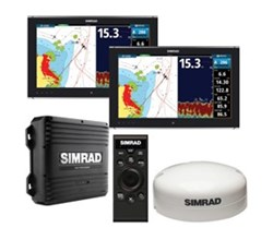 Hot Deals simrad nso dual multi touch monitor bundle
