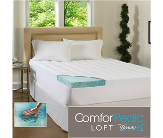 beautyrest supreme gel memory foam topper