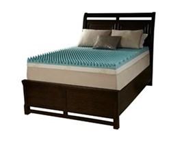 Simmons Beautyrest Queen Size Mattress Toppers beautyrest sculpted gel memory foam mattress topper