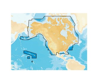 navionics plus preloaded chart of all usa/canada gold and hotmaps