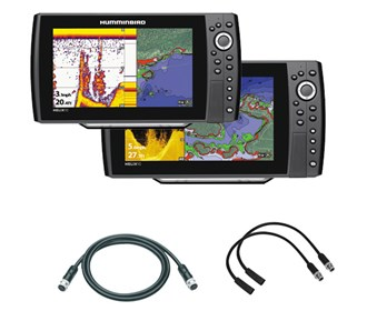 Humminbird Helix 10 / 10 DI Package