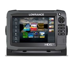 Lowrance HDS 7 Multifunction Fishfinder Chartplotters lowrance hds 7 baja generation 3 chartplotter