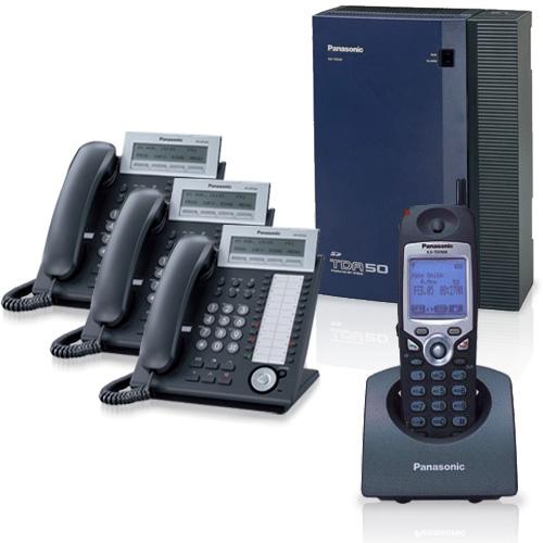 Panasonic KX-TDA50G Hybrid IP PBX System