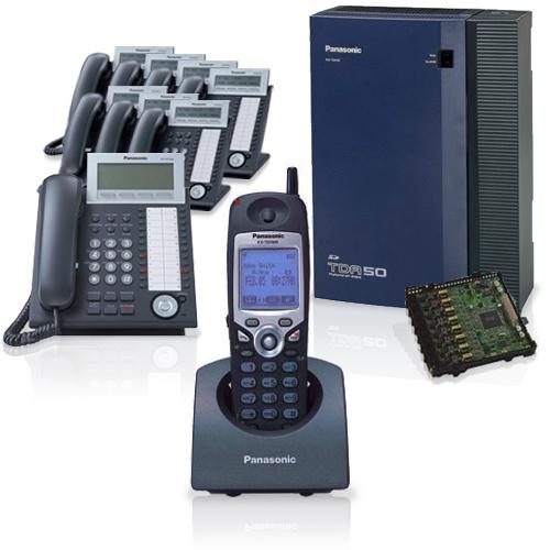 Panasonic KX-TDA50G Hybrid IP PBX Business Phone System