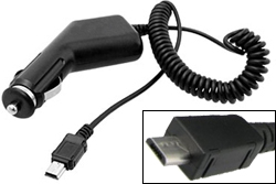 TomTom GPS Accessories MicroUSBCarCharger