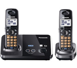 Panasonic 2 Line Cordless Phones panasonic kx tg9322t