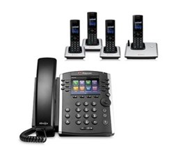 Polycom 4 Handsets polycom 2200 48400 001