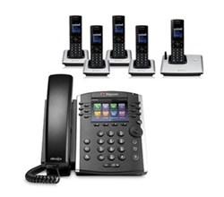 Polycom 5 Handsets polycom 2200 48400 001