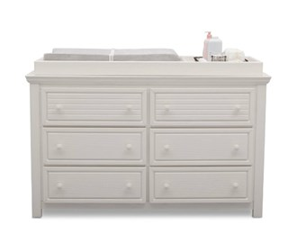 simmons oakmont 6 drawer dresser