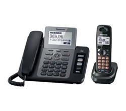 Panasonic 2 Line Corded Phones panasonic kx tg9471b