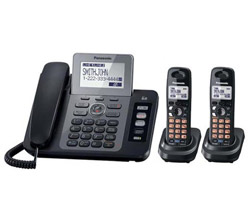Panasonic 2 Line Corded Phones panasonic kx tg9472b