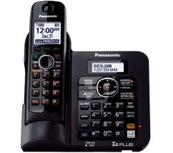 DECT 6.0 Cordless Phones Talking Caller ID panasonic kx tg6641b
