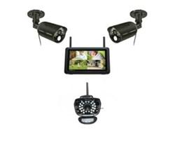 Uniden Video Surveillance 3 Camera Systems uniden udr777hd