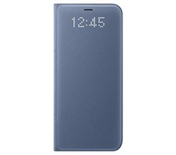Blue Cases samsung led wallet cover for samsung galaxy s8
