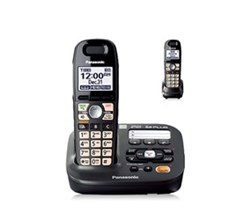 DECT 6.0 Cordless Phones Talking Caller ID panasonic kx tg6592t