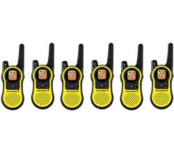 6 Radios motorola mh230r