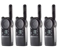 4 Radios motorola cls1110