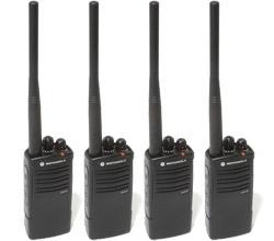 4 Radios motorola rdv5100