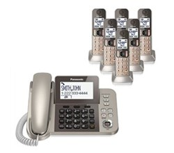 Panasonic Corded Phones panasonic kx tgf356n