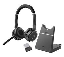 Jabra GN Netcom Evolve Series jabra gn netcom jabra evolve 75  with charging stand uc stereo