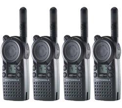 4 Radios motorola cls1410