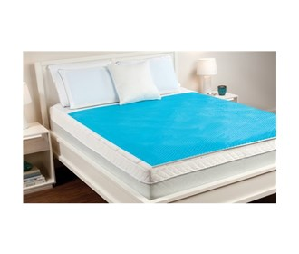 comfort revolution hydraluxe cooling gel topper pad