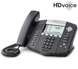 Polycom 6 Line SIP VOIP Phones polycom 2200 12651 001