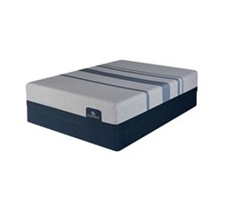Serta King Size Luxury Firm Mattress and Boxspring Sets serta icomfort blue max 1000 cfm