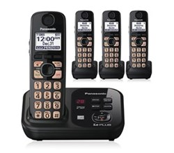 DECT 6.0 Cordless Phones Talking Caller ID panasonic kx tg4734b