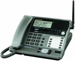 Panasonic 2 Line Corded Phones panasonic kx tg2000b base
