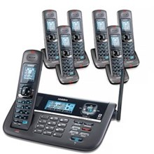 Uniden 6 Handset Multi Line Phones uniden dect 4086 7