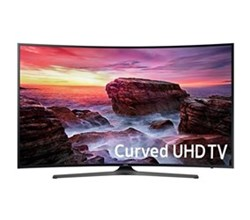 Samsung TV Professional Displays samsung 49 inch class mu6500 6 series curved uhd led smart tv