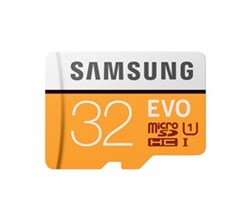 Samsung Tablet Accessories EVO MicroSDHC Card