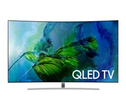 Samsung TV Professional Displays samsung 75 inch class q8cam q series curved uhd qled smart tv